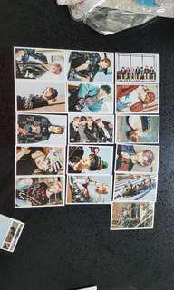 BTS Bangtan Boys unofficial photocards kpop