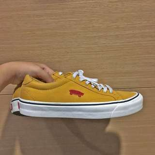 🚚 Vans 薑黃色 滑板標示