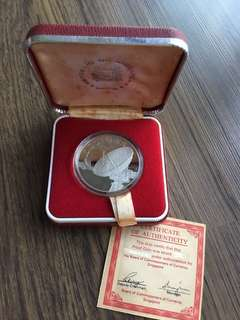 A101 - Singapore 1980 Nickel Proof Coin