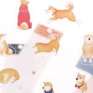 🌟BN INSTOCKS Adorable Shiba Inu Stickers