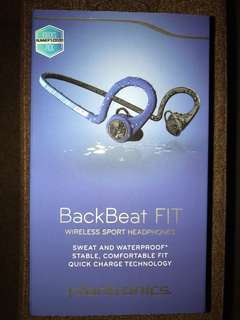 BNIB Plantronics Backbeat Fit
