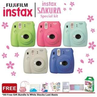 Instax sakura special kit
