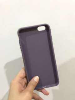 Sillicone iPhone case (violet) 6/6s plus