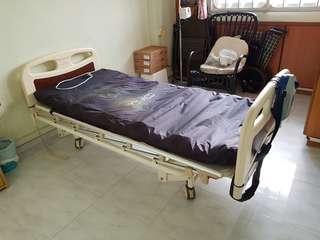Auto Hospital bed cum air mattress