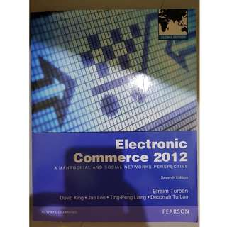 Electronic Commerce 2012 Global Edition 7e