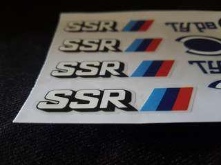 SSR Type C Rim Decal (OEM)