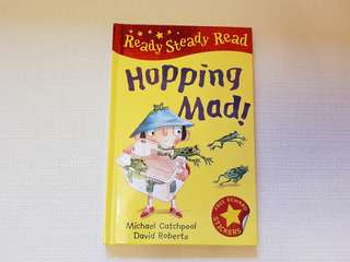Children's Story Book - Hopping Mad (Ready Steady Read)