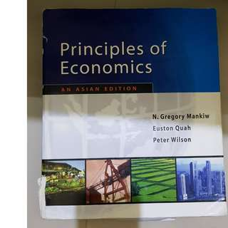 Principles Of Economics - Asian Edition By N. Gregory Mankiw
