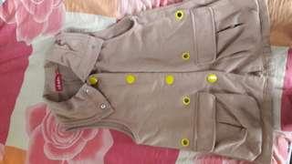 Jacket vest/Sleeveless jacket