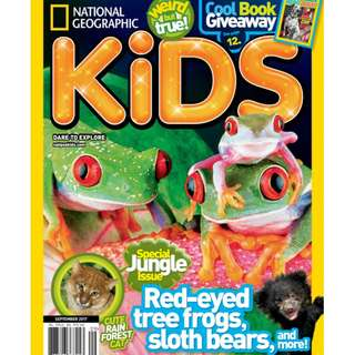 National Geographic Kids - September 2017 ebook magazine