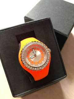 Orange Axis Jelly Watch