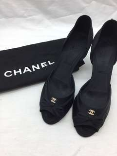 照價八折 二手正品👠 Chanel high heels