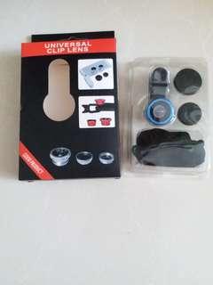手機魚眼鏡頭 廣角鏡 universal clip lens