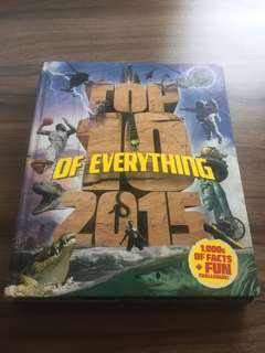 Top 10 of Everything 2015 Book