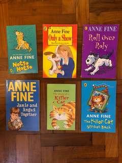 Anne Fine Children's books