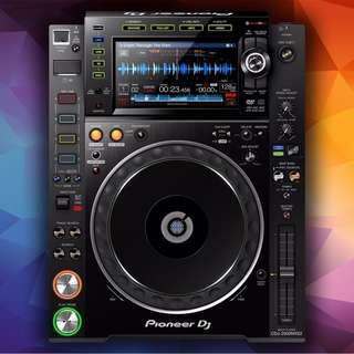 FOR RENT: Pioneer DJ CDJ 2000NX2 & DJM 900NX2