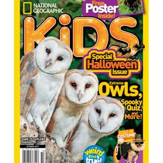 National Geographic Kids - October 2017 ebook magazine
