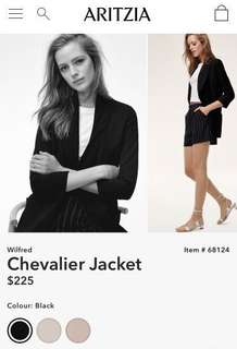 Wilfred Chevalier Jacket/Blazer