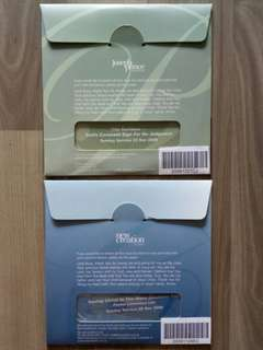 Sermon CDs (Joseph Prince and other pastors)