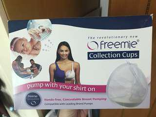 Freemie 免提 collection cups for breastfeeding moms