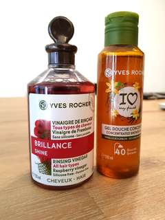 Yves Rocher Hair Care & Concentrated Shower Gel