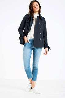 🈹Jack Wills Dollyhill Swing Trench Coat