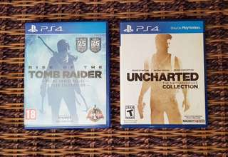 Rise of The Tomb Raider/Uncharted Collection