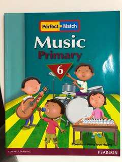 小六音樂書 perfect match music