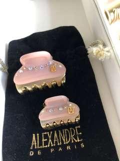 🚚 Alexandre de Paris 手工髮夾