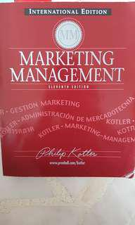 Marketing Management 11th Edition