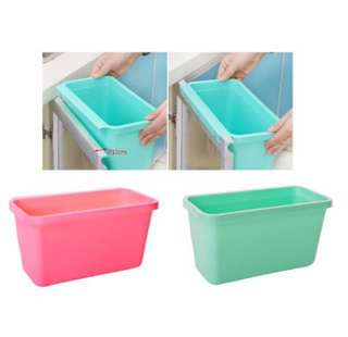 Creative Versatile Multi-purpose Plastic Kitchen Cabinet Door Hanging Trash Garbage Bin / Storage Container / Desktop Storage Box (Large Size)