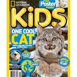 National Geographic Kids USA - November 2017 ebook magazine