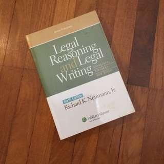 Neumann / Legal Reasoning and Legal Writing