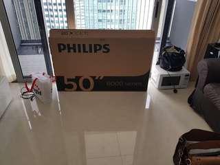 "Used 50"" TV box"