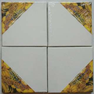 4 pieces 18x18cm canvas