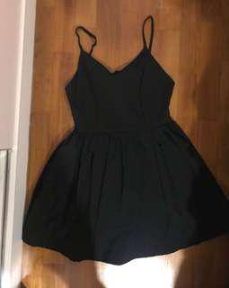 Black Spag Dress