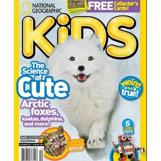 National Geographic Kids USA - December 2017 ebook magazine