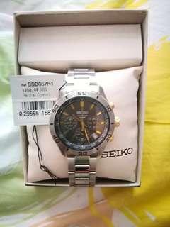 Seiko Classic Chronograph SSB057P1 Mens Watch