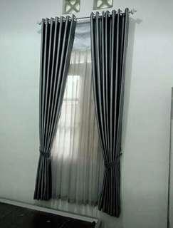 Gorden jendela model minimalis