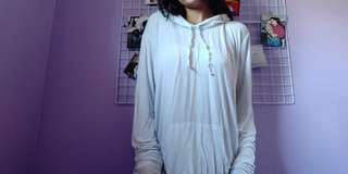 Brandy Melville Baby Blue Pullover Soft Hoodie