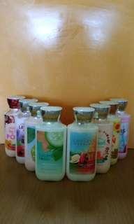 Bath & Body Works - Assorted Body Lotions & Shower Gels