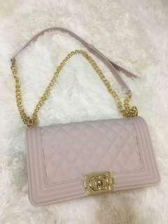 Nude leboy bag