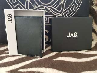 Jag Wallet Brand  New Bifold discontinued