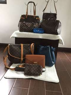 Louis Vuitton bags on hand and ready to ship