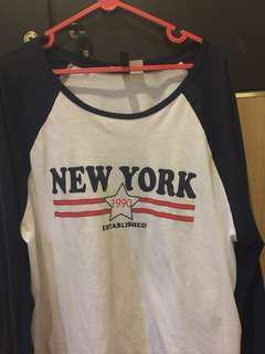 H&M NEW YORK TOP
