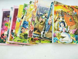 🚚 Chinese story books with English subtitles