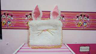 Rabbit Fur Slingbag