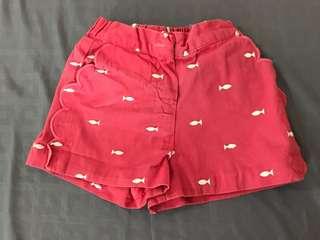 Disney Store girls shorts