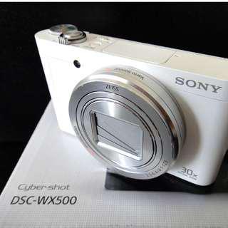 Sony Cyber-shot DSC-WX500 (White 95% NEW)