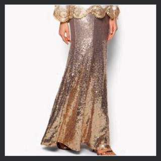 ZALIA GOLD SEQUIN M SIZE